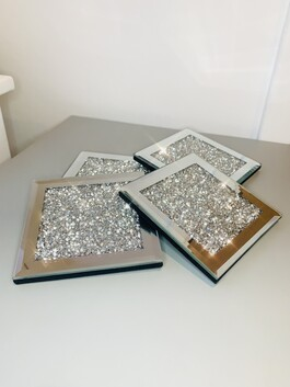 Crystal Glitz Coasters