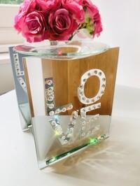 Crystal Love Mirrored Wax/Oil Burner