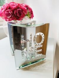 Crystal Home Mirrored Wax/Oil Burner