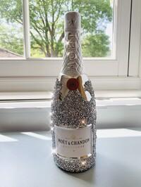 Crystal Glitz Bottle Ornament