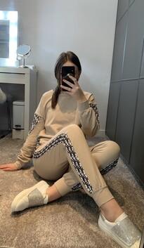 Beige Loungewear Set