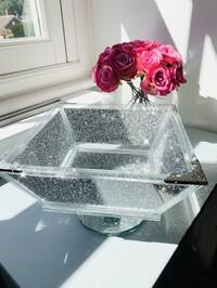 Crystal Glitz Fruit Bowl
