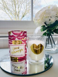 Love Always Candle - Prosecco Scent
