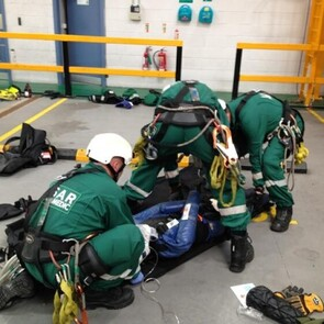 Casualty Care at Height
