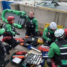 Casualty Management and Intervention – Vehicle Trapped in Water (HART)