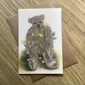 Humphrey Buttercup Bear Greetings Card
