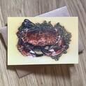 Colin the Crab Greetings Card