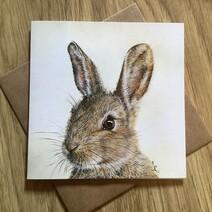 Mr. Whiskers Greetings Card