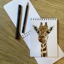 Gerald the Giraffe Note Pad