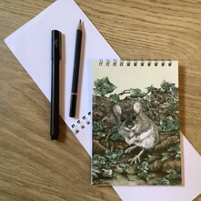 P.G. Woodmouse Note Pad