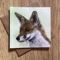 Fabulous Mr. Fox Greetings Card
