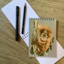 Arun the Orangutan Note Pad
