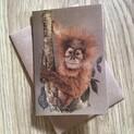 Arun the Orangutan Greetings Card