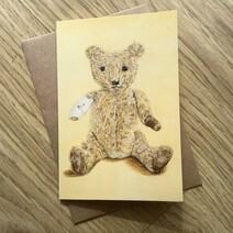 Alan Bear Greetings Card