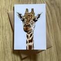 Gerald the Giraffe Greetings Card