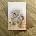Cuthbert Bear Greetings Card