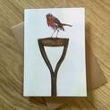 Garden Robin Greetings Card