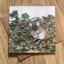 P.G. Woodmouse Greetings Card