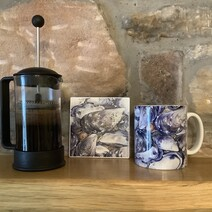 Mussel Bound! Ceramic Mug and Coaster Set
